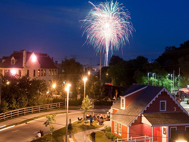 Celebrate the Fourth of July in Tosa