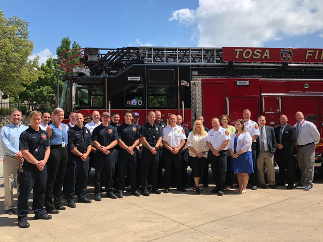 Fire Department Earns Prestigious ISO Class 1 Rating
