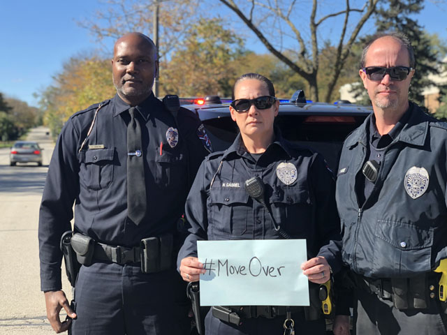 Police Recognize #MoveOver Day in Wauwatosa