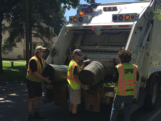 No refuse collection on Fourth of July