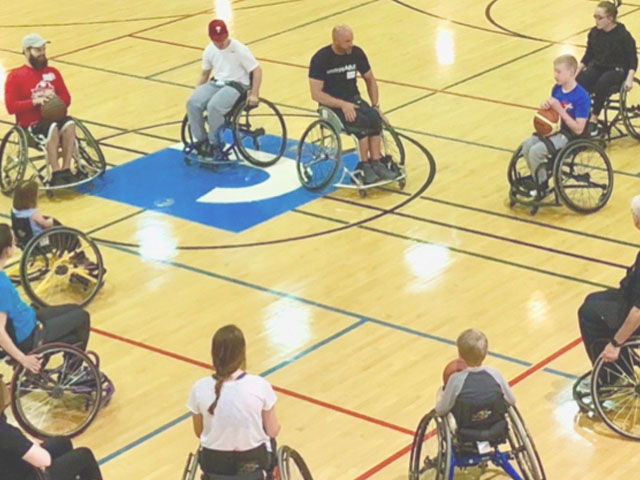 Join us for Hoops: Wheelchair Basketball