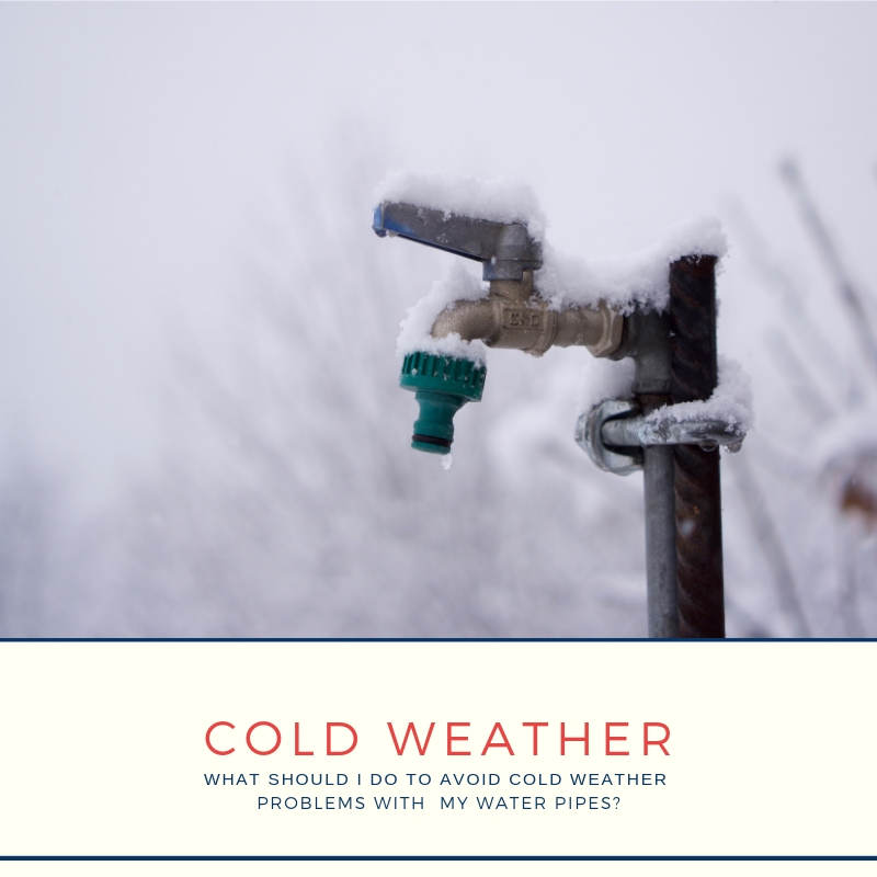 Cold Weather & Your Water Pipes