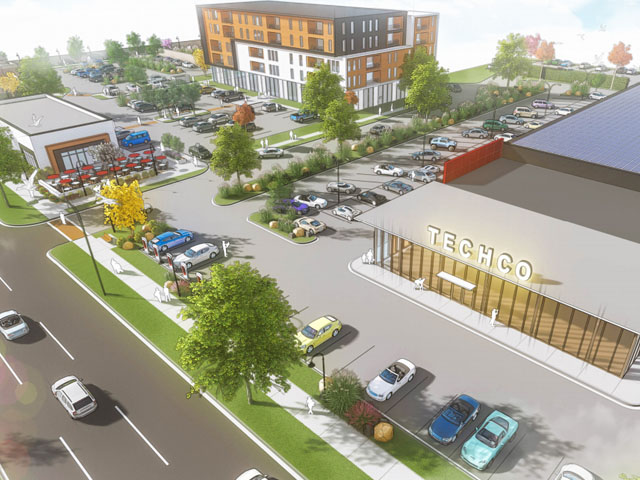Plan Commission recommends mixed-use development on Burleigh
