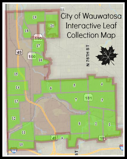 Interactive Leaf Collection Map