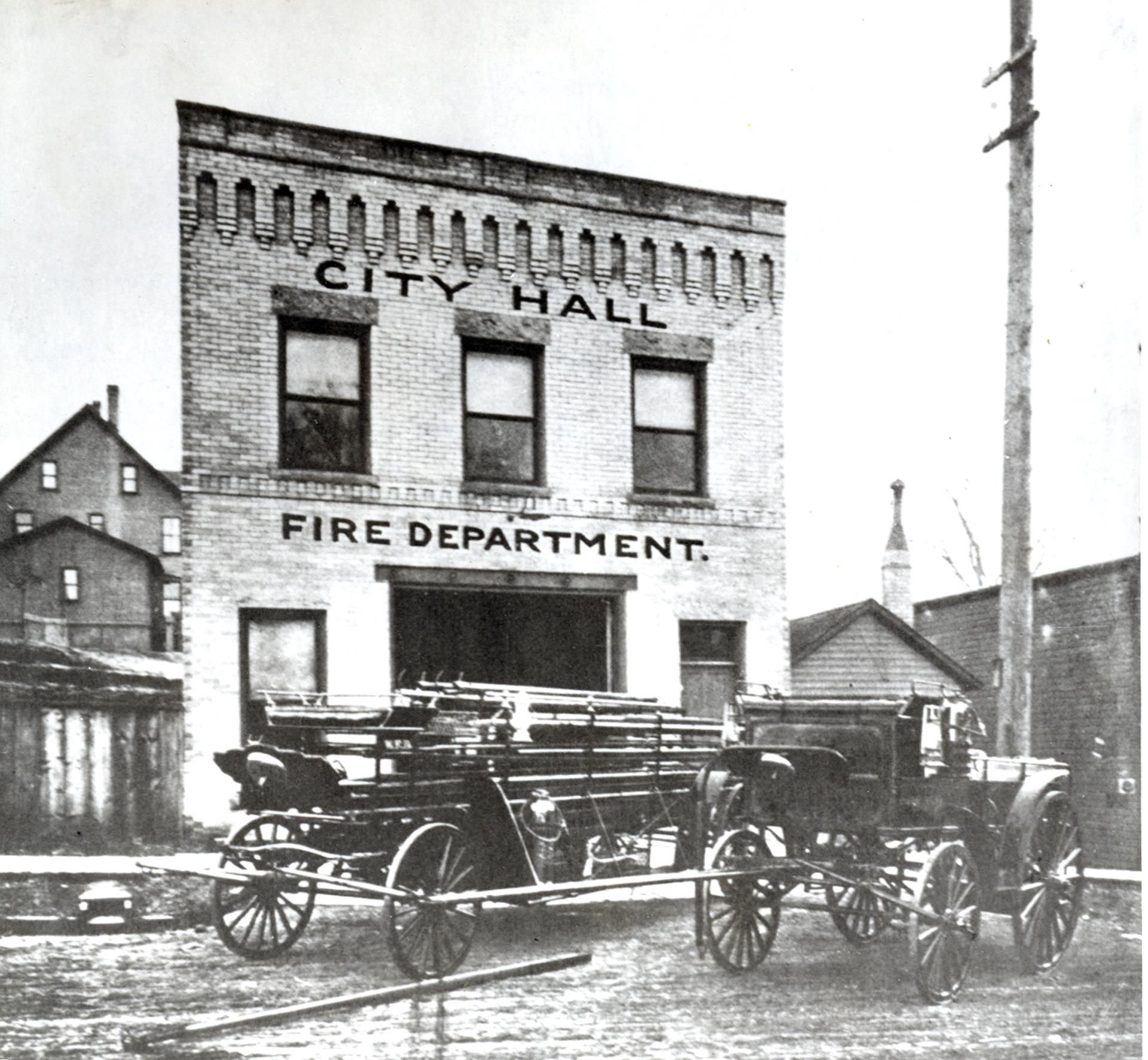 Fire Department in the early 1900s.